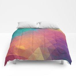 Geometric art Comforters