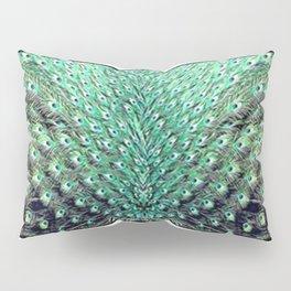 Peacock art Pillow Sham