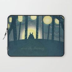 Totoro ' s Dream  Laptop Sleeve