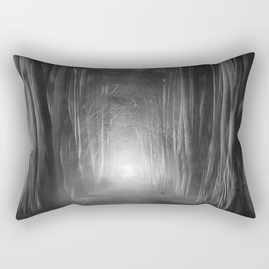 Black and White - Dreams come true Rectangular Pillow