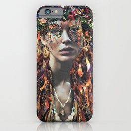 Madame Pele iPhone Case