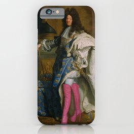 Louis XIV Kinky Boots iPhone Case