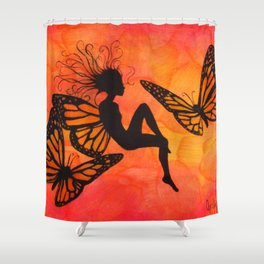 Tiger-Lily Shower Curtain