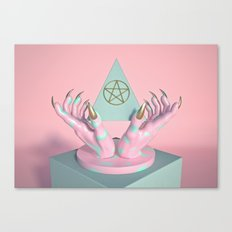 Idle Hands Canvas Print