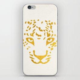 LEO FACE iPhone Skin
