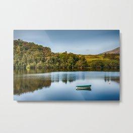 Loch Awe Reflections Metal Print
