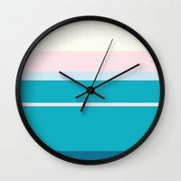 elsa Wall Clocks featuring Elsa  by Fräulein Fisher
