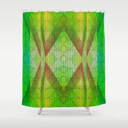 digital texture Shower Curtain
