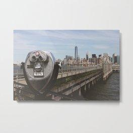 Viewfinder NYC Metal Print