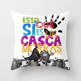 Cascamorras Throw Pillow
