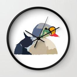 King Eider Wall Clock
