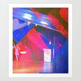 Arte de Bailar Art Print