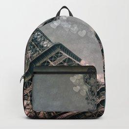 I Dream of Paris Rose Pink Backpack