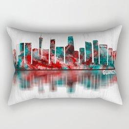 Guangzhou China Skyline Rectangular Pillow