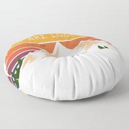 Geocacher Geocaching Cache gift Floor Pillow