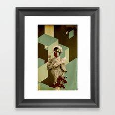 Ms. Teardrops Framed Art Print