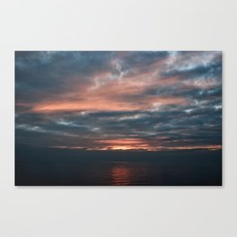 Morning has broken Roker Sunderland Canvas Print