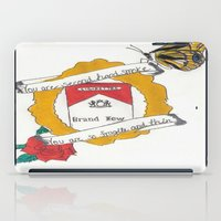 brand new iPad Cases featuring Brand New by Sarah Hinds