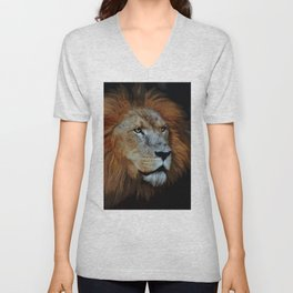 The Lion of Judah Unisex V-Neck