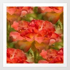 Roses Galore Art Print