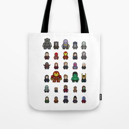 All Characters Tote Bag