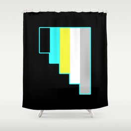 Requiessexual and Requiessromantic Shower Curtain
