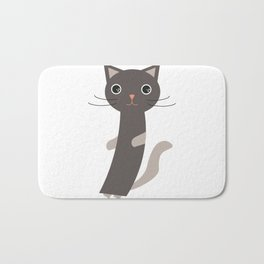 Just another cat Bath Mat