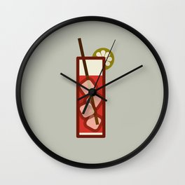 Mixed - Icon Prints: Drinks Series Wall Clock