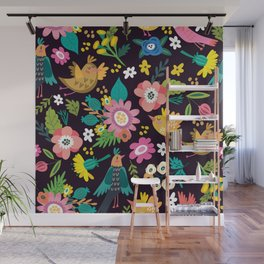 The floral floresta Wall Mural