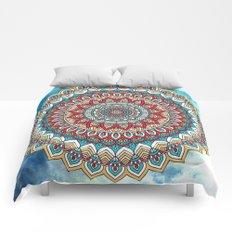 Color Mandala III Comforters