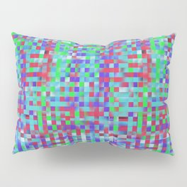 Abstract color square background Pillow Sham