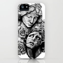 Hell vs. Paradise iPhone Case