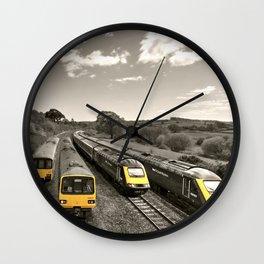 Aller Panoramic Wall Clock