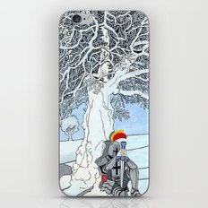 The Knight's Rest iPhone & iPod Skin