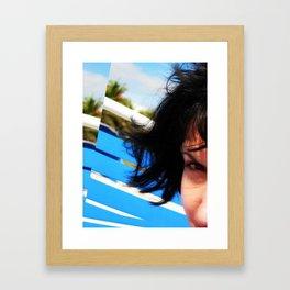 Poolside  Framed Art Print
