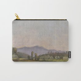 Italian Landscape Oil Painting Carry-All Pouch