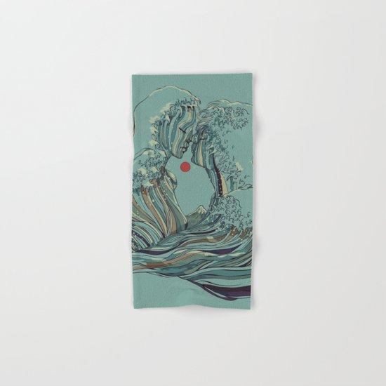 Kissing The Wave Hand & Bath Towel