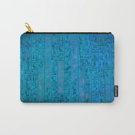 Ancient egyptian blu Carry-All Pouch