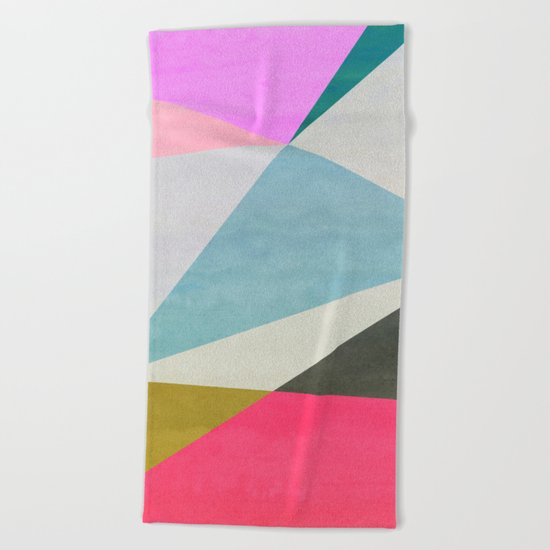 Abstract 05 Beach Towel