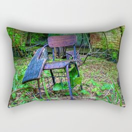Student Desk Rectangular Pillow