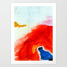 Study for Figure at the Base of a Crucifixion #2 Art Print