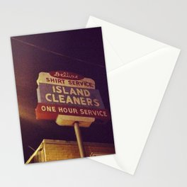 Island Cleaners Stationery Cards