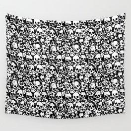 Skull Wall Wall Tapestry