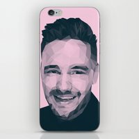 liam payne iPhone & iPod Skins featuring Liam Payne - One Direction by jrrrdan