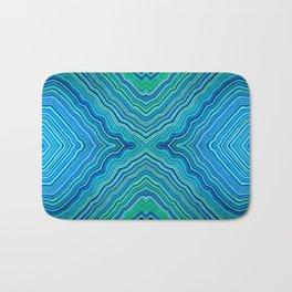 Abstract #9 - IX - Blues & Greens Bath Mat