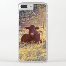 Just Bull Clear iPhone Case