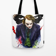 Angel Of Chaos (The Joker) Tote Bag