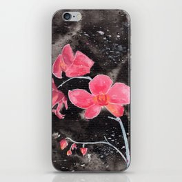 Orchid Ink Painting iPhone Skin
