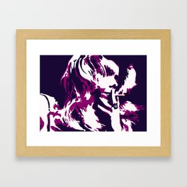 Rock 'n' Roll Suicide Framed Art Print