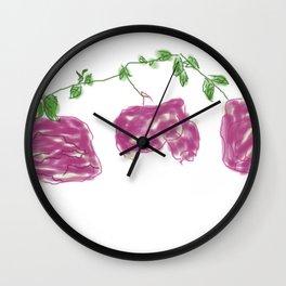 Lila Rosen Wall Clock